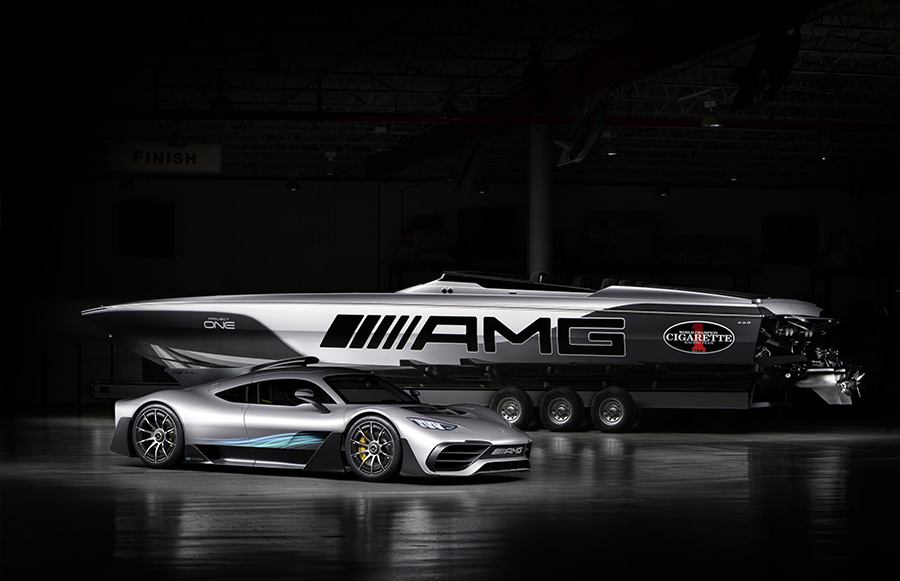 Automotive News Mercedes-AMG Cigarette Racing 515 Project ONE