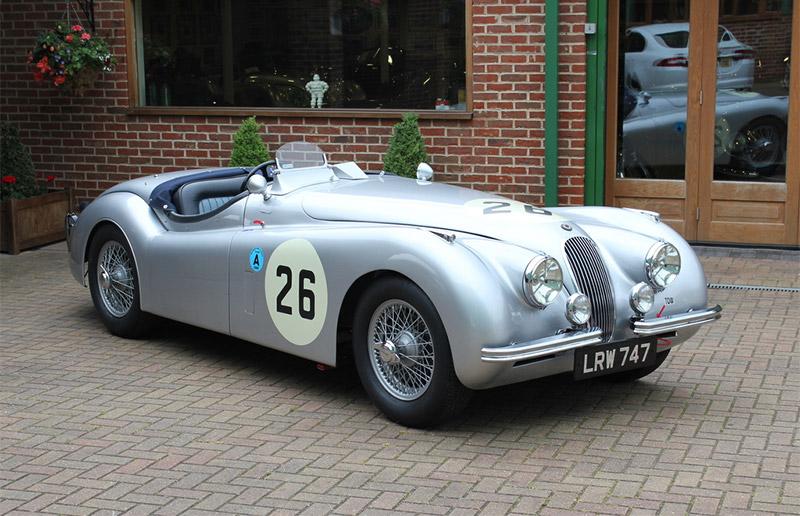 1951 Jaguar XK120 Competition Roadster for sale