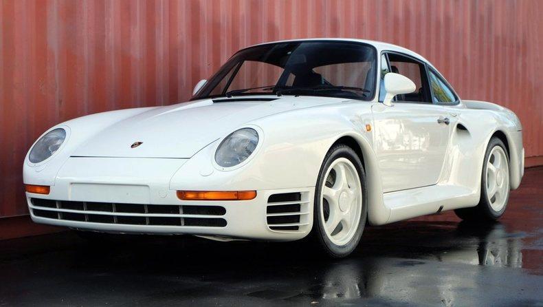 1988 Porsche 959 Komfort The Speed Journal