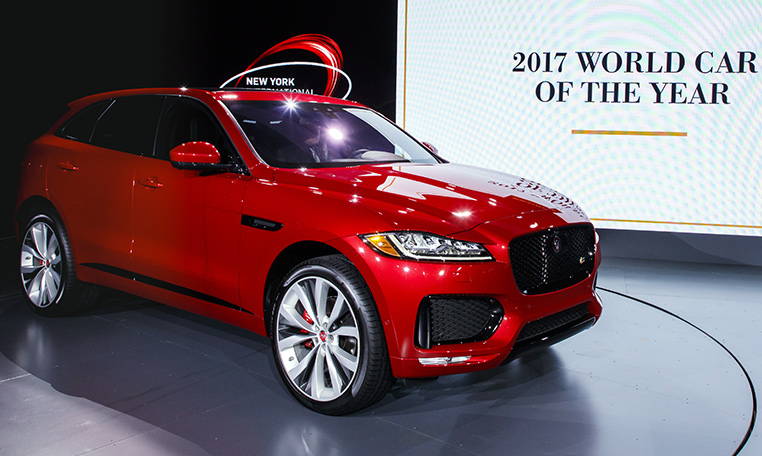 The Jaguar F PACE Is Officially The Best And Most Beautiful Car In The  World After Double Success At The 2017 World Car Awards, Scooping The  Prestigious ...