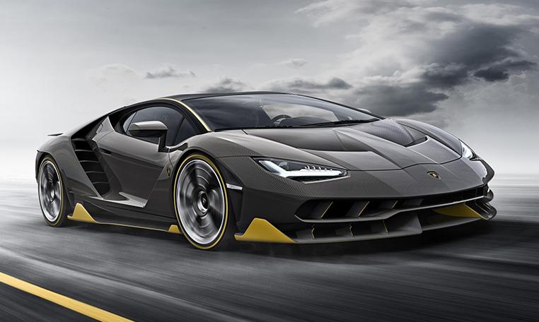 Lamborghini Centenario At Goodwood Festival Of Speed 2017