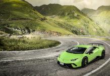 Lamborghini Huracans in Transylvania
