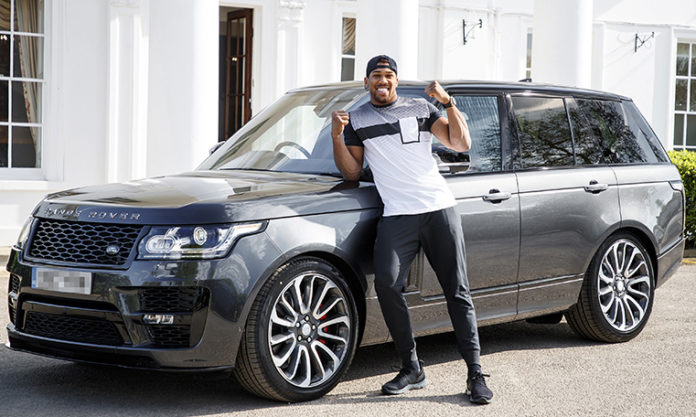 Anthony Joshua MBE Range Rover