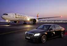 Emirates Airlines Mercedes-Benz Partnership