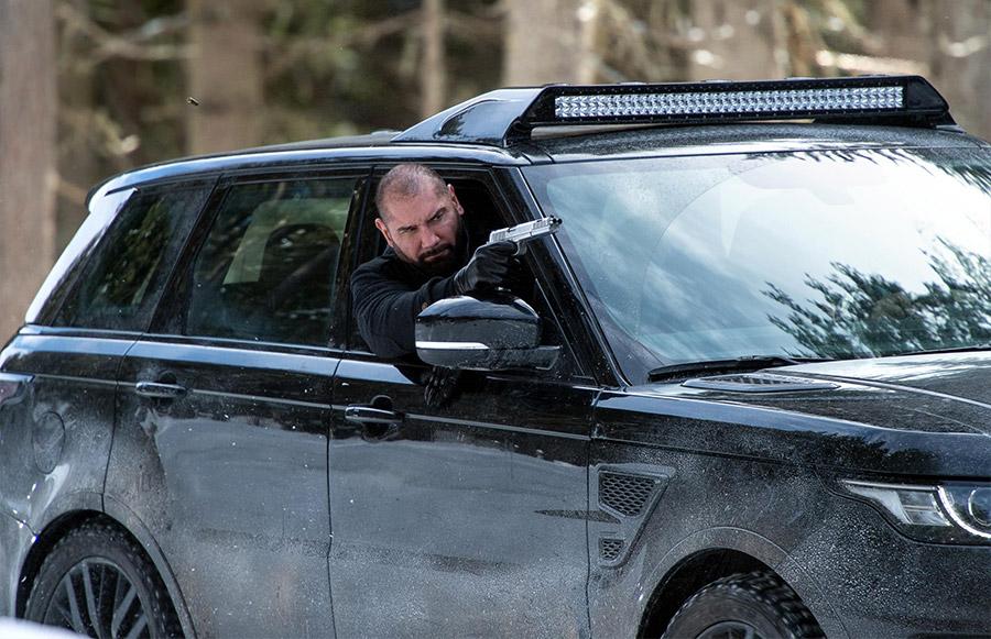 James Bond Agent 007 Jaguar land Rover Experience Solden Austria
