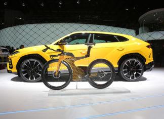 Lamborghini and Cervélo Cycles P5X