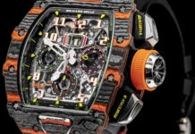 Richard Mille McLaren Automotive Timepiece Geneva International Motor Show