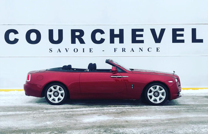Rolls-Royce Motor Cars London Courchevel France