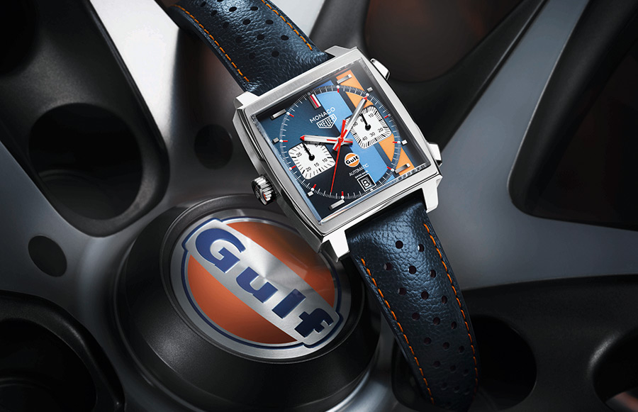 Automotive News Tag Heuer Monaco Gulf Special Edition