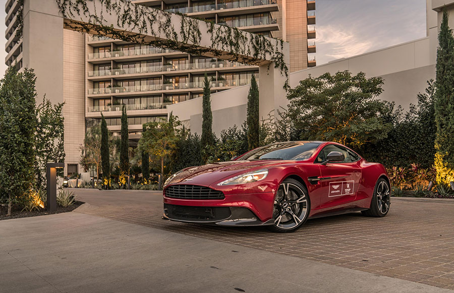 Waldorf Astoria Aston Martin Driving Experience