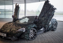 McLaren Feathered Wrap