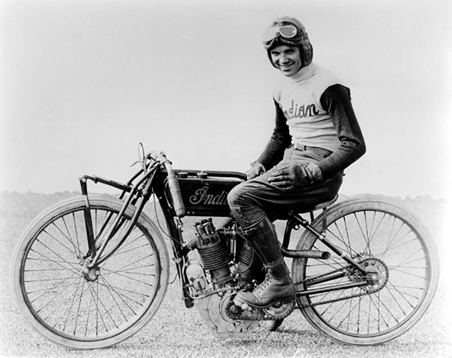 Albert 'Shrimp' Burns Indian Motorcycle