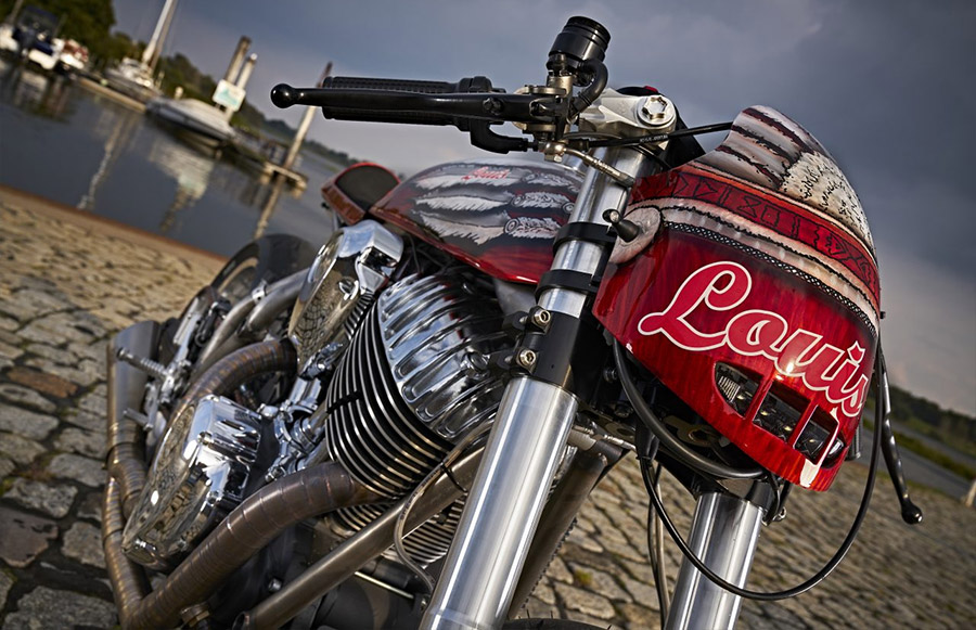Indian Motorcycle Cafe Racer Enigma