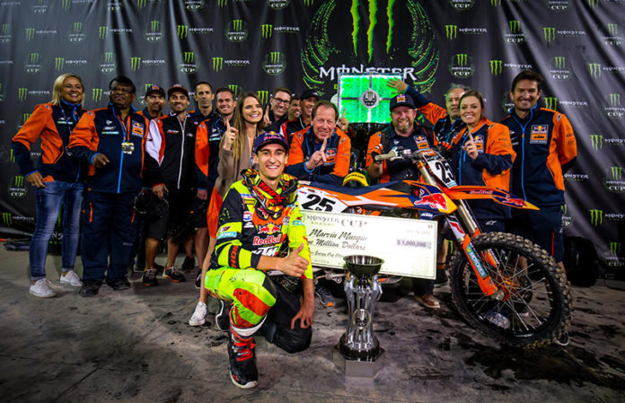 Marvin Musquin Wins The Monster Cup