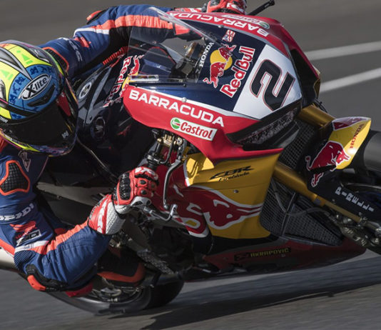 Leon Camier Red Bull Honda World Superbike