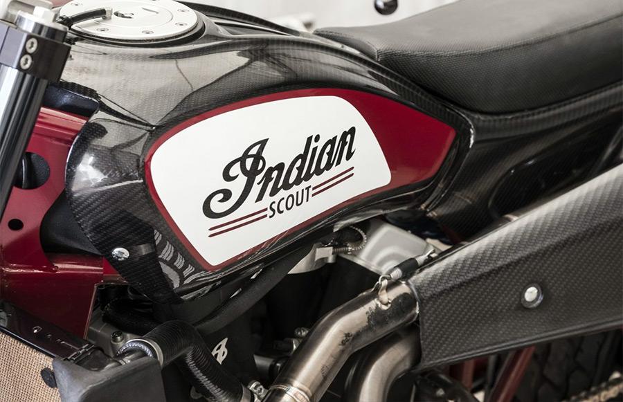 Travis Pastrana Indian Motorcycle Evel Knievel Tribute