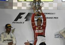 Sebastian Vettel Wins Bahrain GP