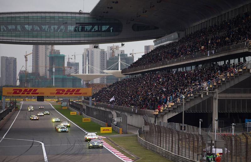 aston martin racing 2017 shanghai