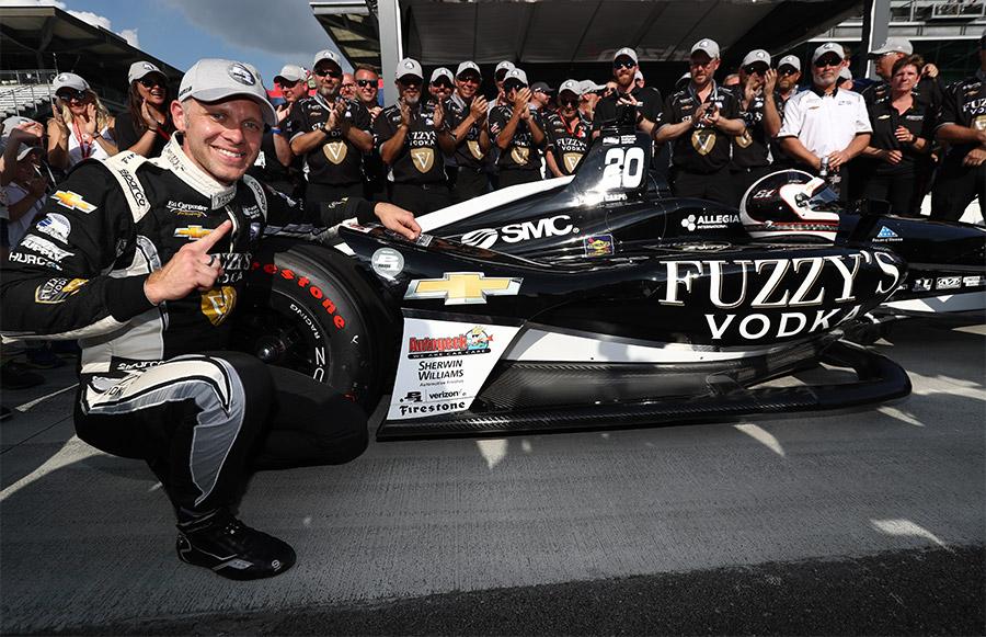 Ed Carpenter Wins 2018 Indy 500 Pole