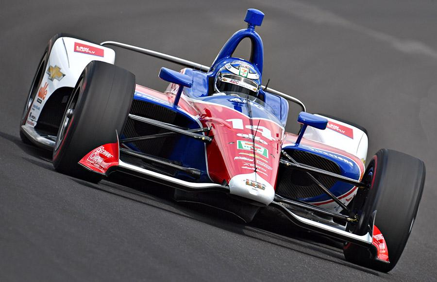 Tony Kanaan 2018 Indy 500 Qualifications