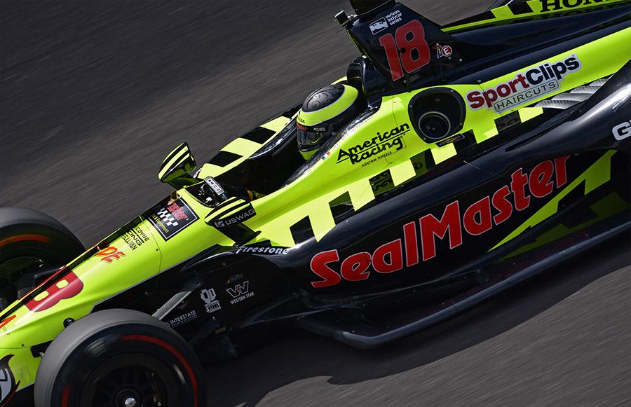 Sebastien Bourdais qualifies 2018 Indy 500