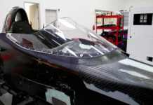 Indycar Windscreen Testing