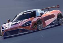 McLaren 720S GT3 Race Car