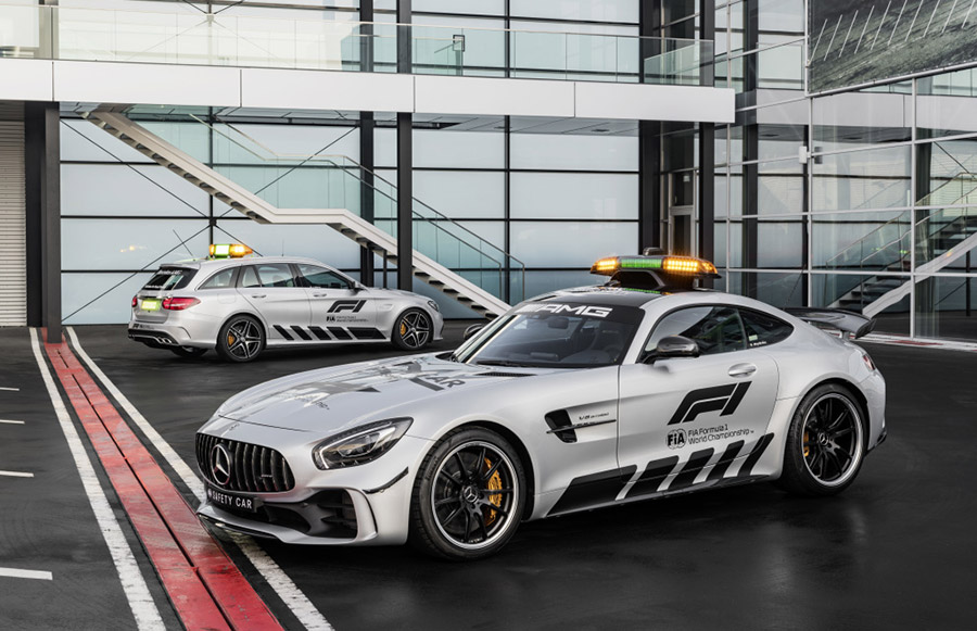 Mercedes AMG GT R Official FIA F1 Safety Car