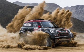 Mini Cooper 2018 Dakar Rally