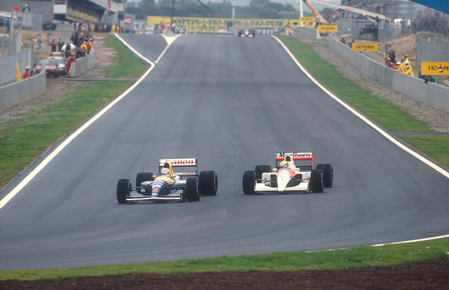 Nigel Mansell Greatest Moments