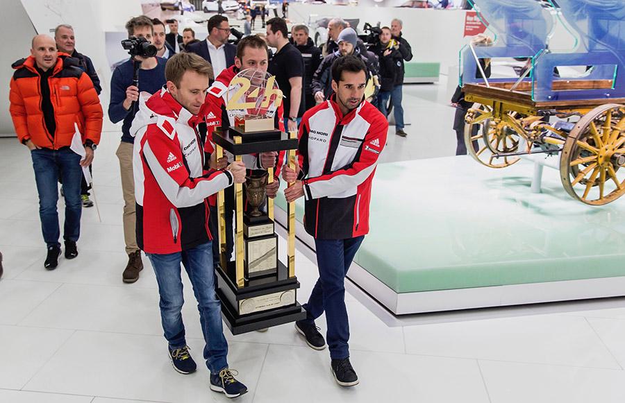 Porsche Museum LeMans Trophy