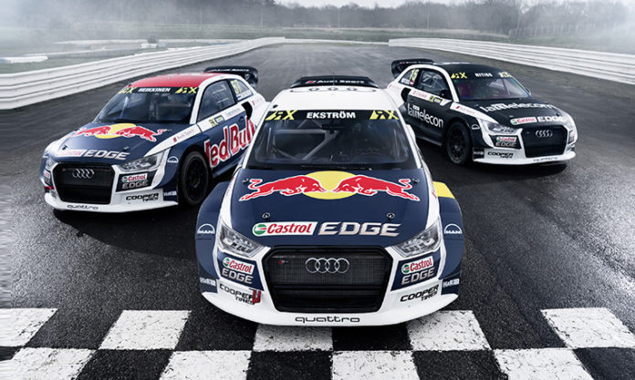 audi and eks ready for 2017 world rx championship. Black Bedroom Furniture Sets. Home Design Ideas