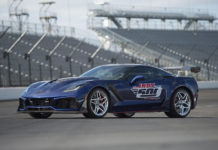 2019 Chevrolet Corvette ZR1 2018 Indianapolis 500 Pace Car