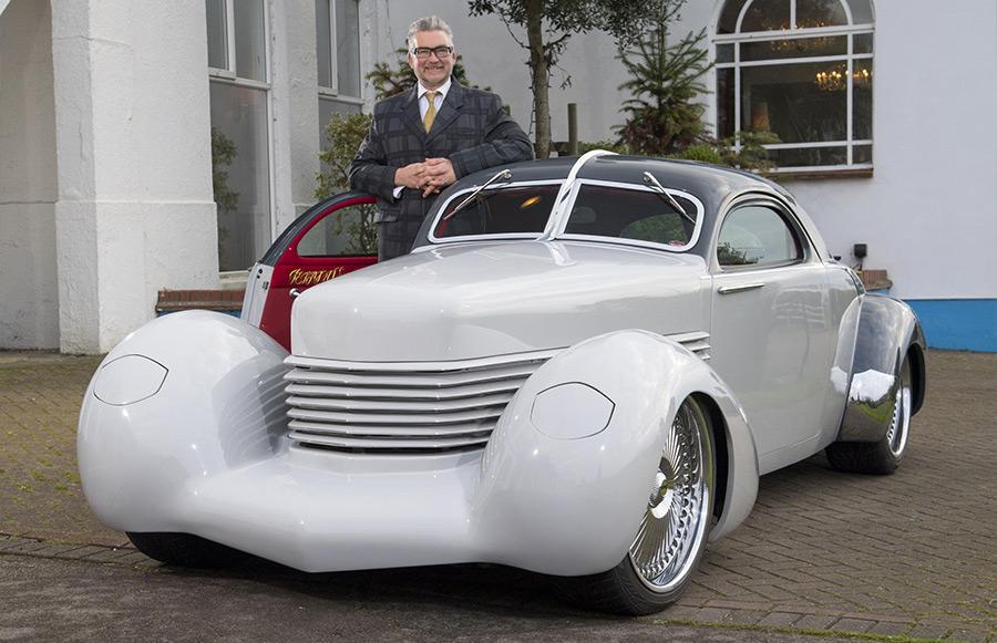 England S Andy Saunders Incredible Custom Car Creations