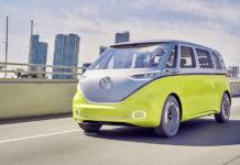 Autonomous Driving Volkswagen Microbus