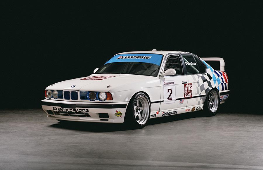 BMW Race Car Exhibit LeMay Americas Car Museum