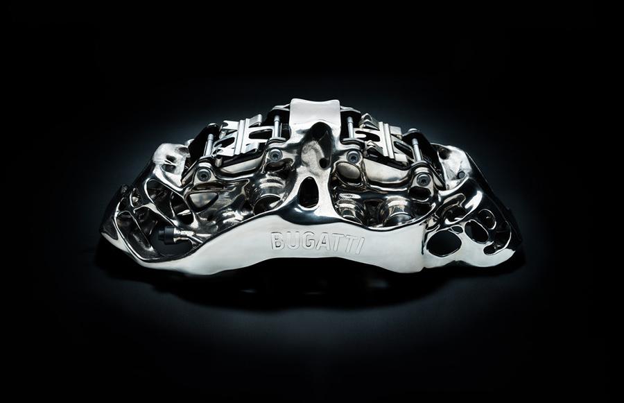 Bugatti Titanium Brake Caliper