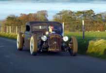 Burlen LTD Christmas Rat Rod