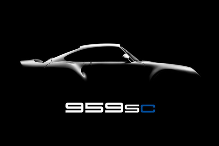 Canepa Porsche 959SC Upgrade Package