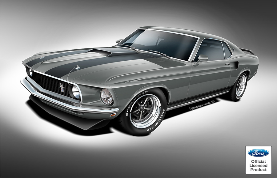 Classic Recreations Ford-Licensed Continuation BOSS and Mach 1 Mustangs