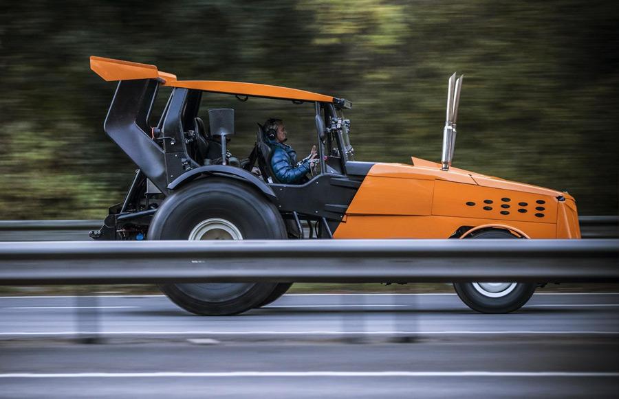 Automotive News Fastest Tractor Top Gear Beaulieu