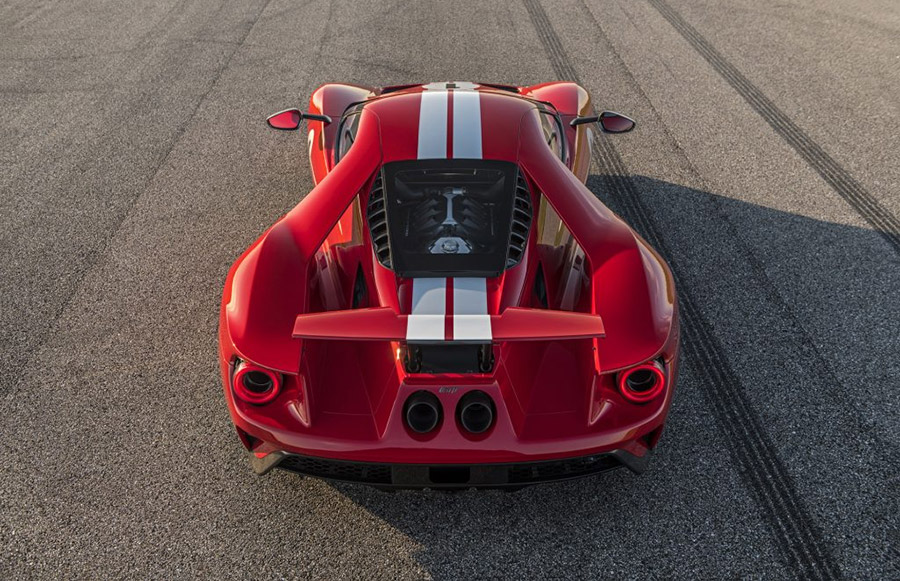 Hennessey Performance  Ford Gt Heritage Edition