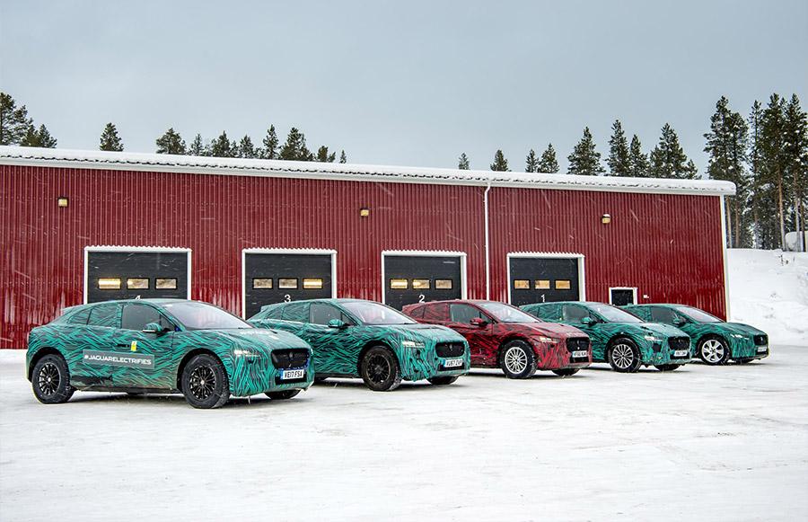 Jaguar I-PACE testing