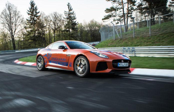 Jaguar Race Taxi Experience Nurburgring