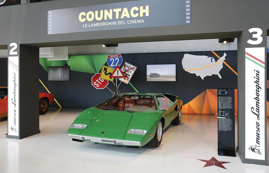 Lamborghini Countach Cannonball Run