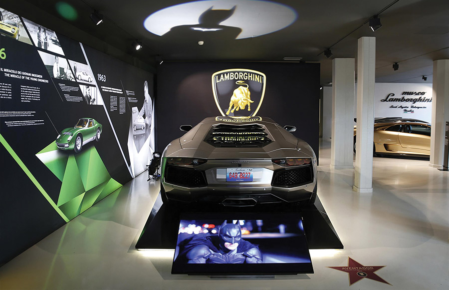 Lamborghini Film Emotions Dark Night Rises
