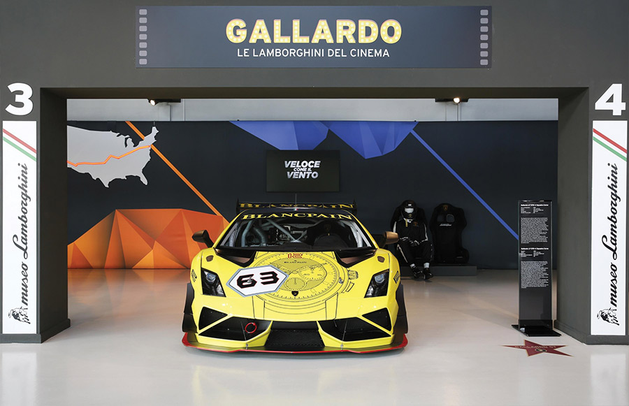 Lamborghini Film Emotions Super Trofeo