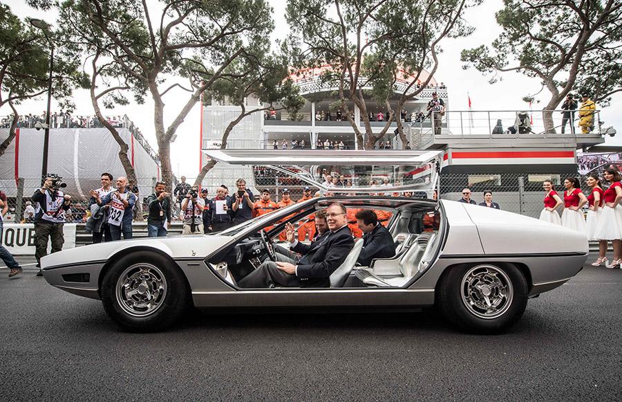Lamborghini Marzal GP de Monaco Historique
