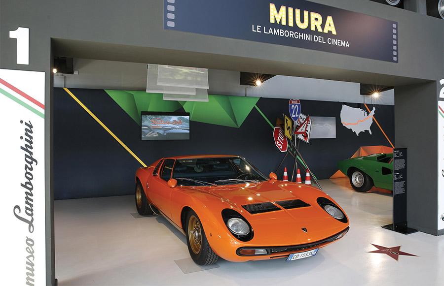 Lamborghini Miura The Italian Job