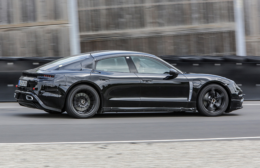 Mark Webber Tests Porsche Mission E